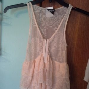 Wet Seal womans lace top NWT size junior xs